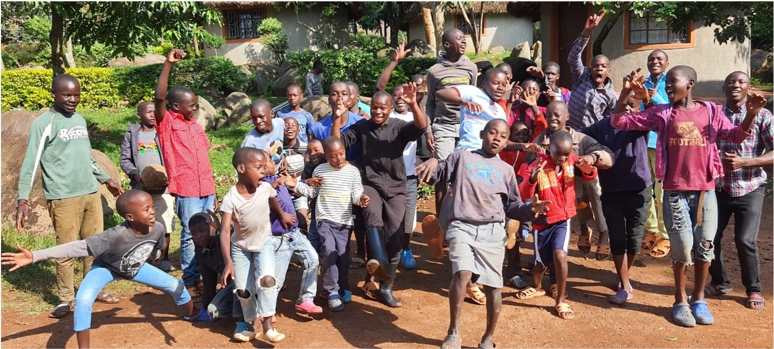 Gruppe von Schulkindern